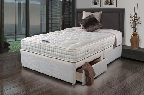 SLEEPEEZEE New Backcare Luxury 1400 Divan Set