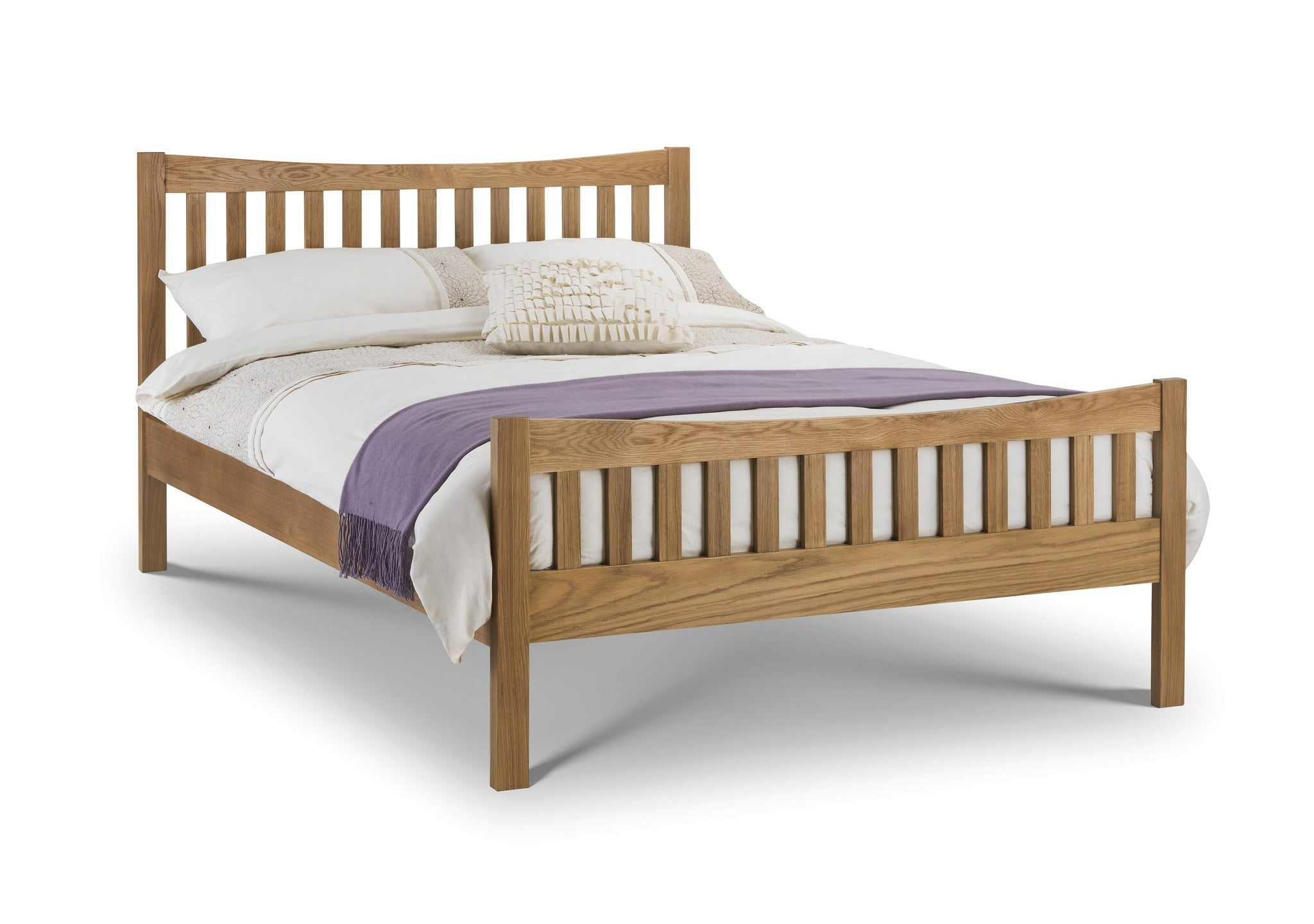 JULIAN BOWEN Bergamo Oak Bed