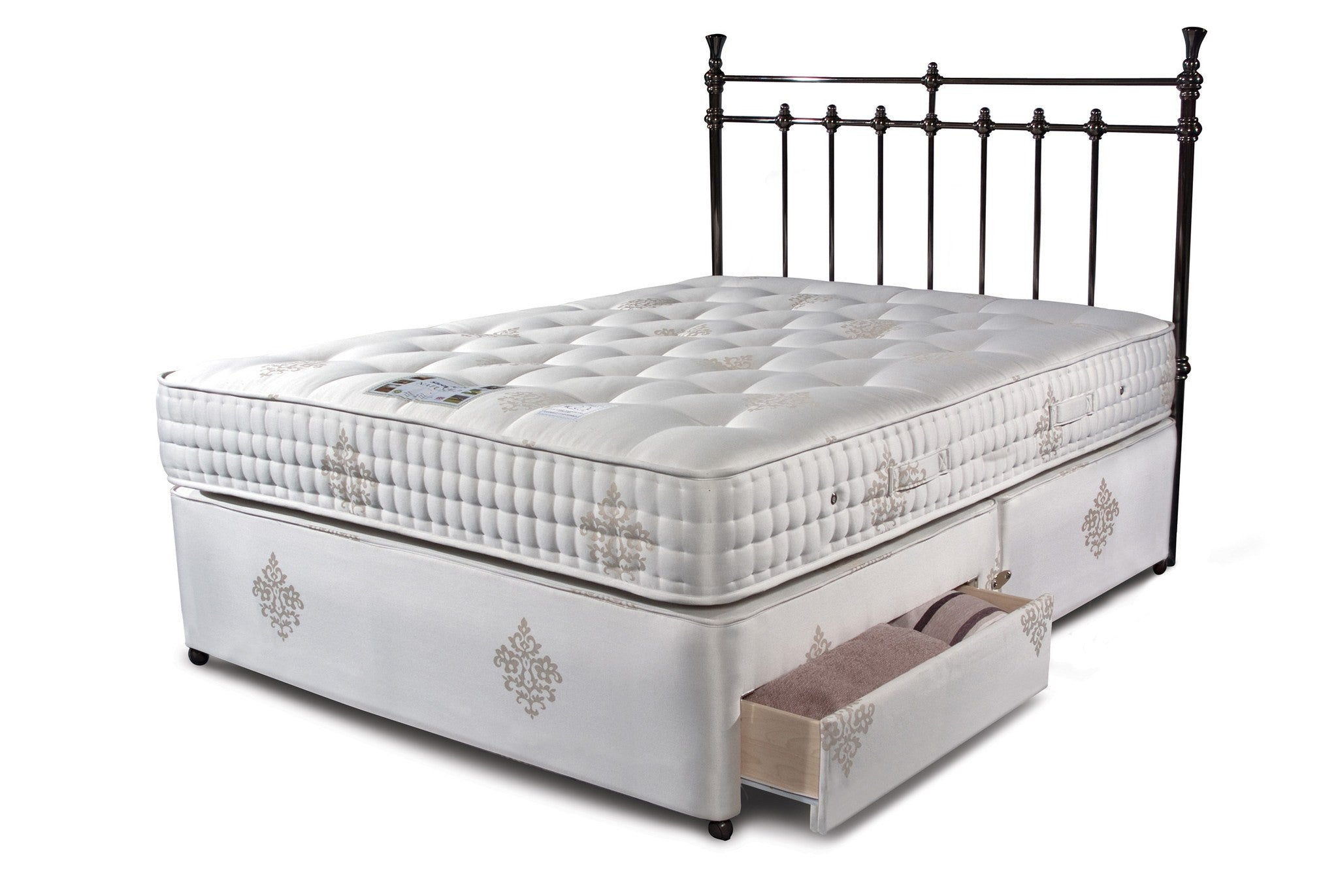 SLEEPEEZEE Bordeaux 2000 Divan Set