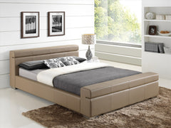 TIME LIVING Durham Stone Imitation Leather Bed