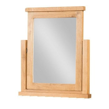 Avon Oak Single Vanity Mirror