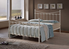 TIME LIVING Ivory Florida Metal Bed