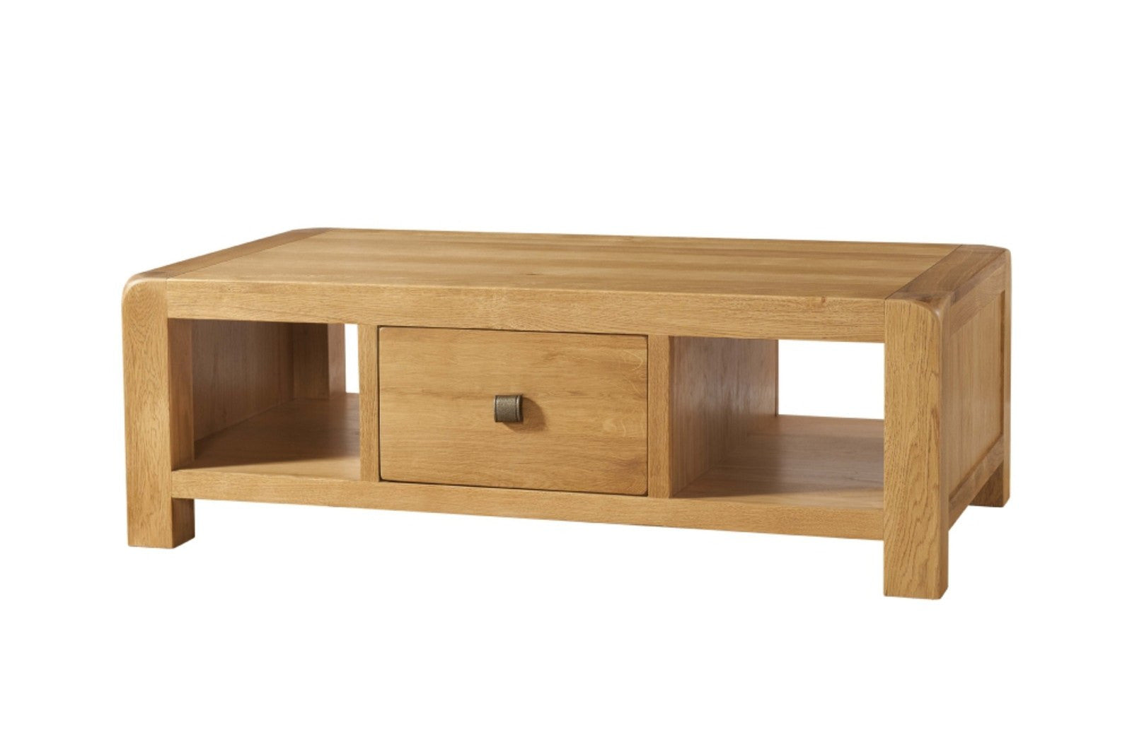 Avon Oak Large Coffee Table With Drawer