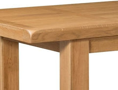 Clovelly Oak Extra Large Extension Dining Table 220 x 320