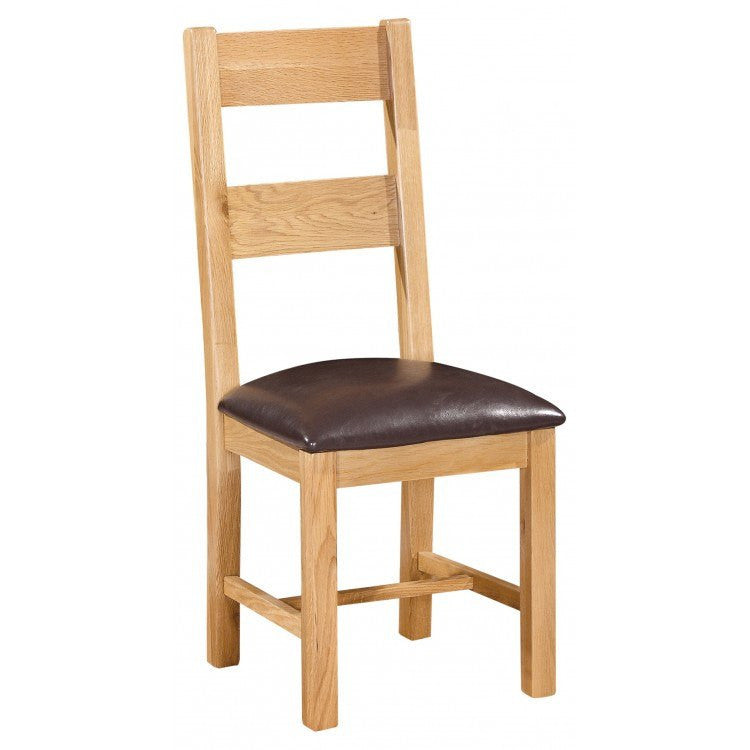 Dorset Oak Ladder Back Chair