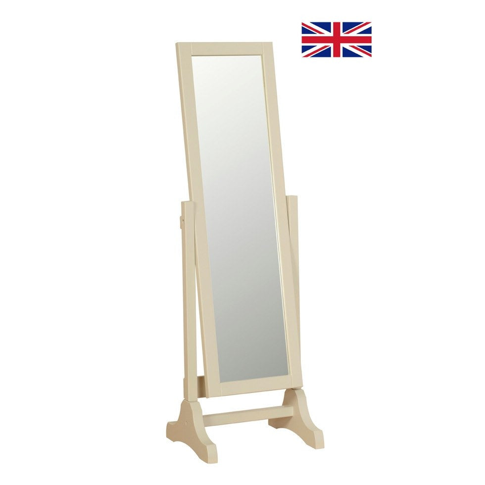 Lundy Painted Cheval Mirror