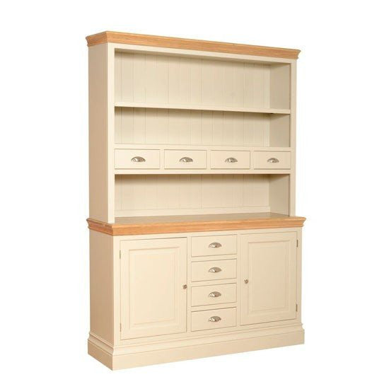 Lundy Painted Large Open Top Dresser With Spice Drawers