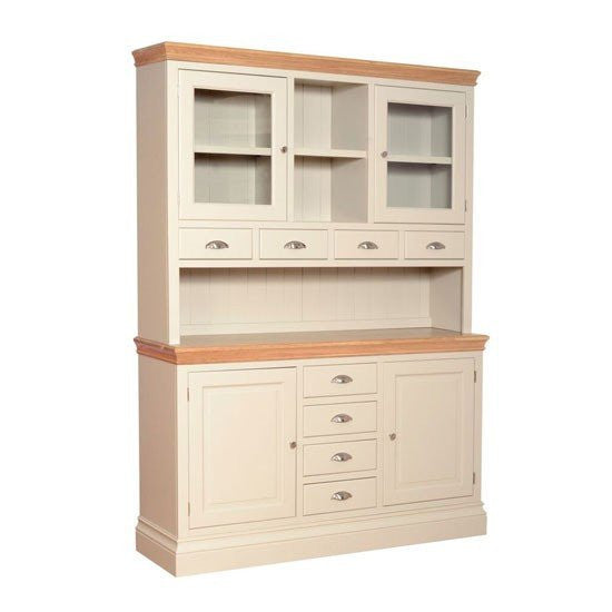 Lundy Painted Large Glazed Top Dresser With Spice Drawers