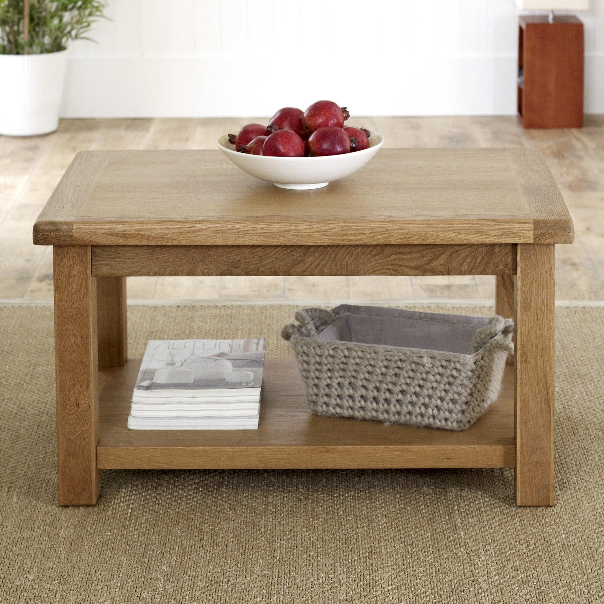 BIRLEA Malvern Oak Coffee Table