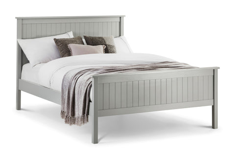 JULIAN BOWEN Maine Grey Wooden Bed