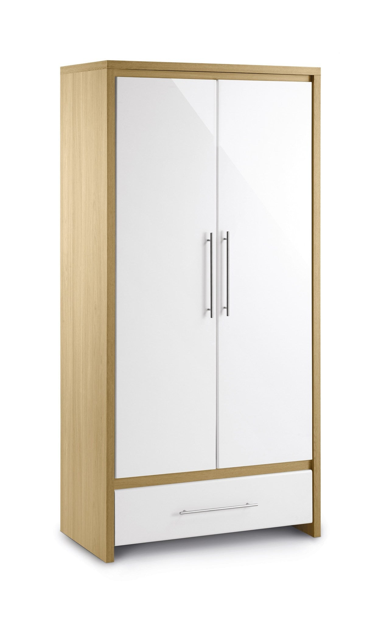 JULIAN BOWEN Stockholm 2 Door Combination Wardrobe