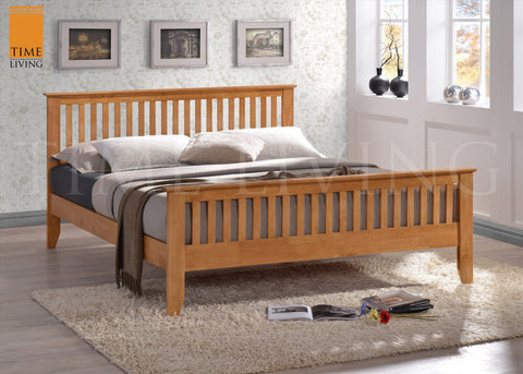 TIME LIVING Turin Solid Wood Bed Frame