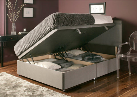 Deluxe Side Opening Ottoman Storage Base Divan