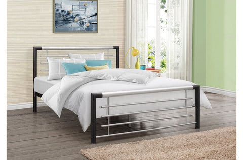 BIRLEA Faro Metal Bed Frame