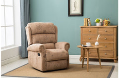 BIRLEA Manhattan Recliner Bronze Brown Chair