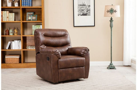 BIRLEA Regency Bronze Brown Recliner Chair