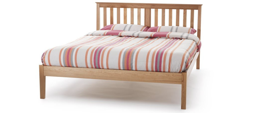 SERENE Salisbury Low Foot End Oak Bed Frame