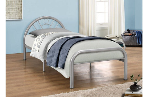 BIRLEA Solo Metal Bed