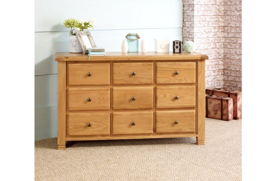 BIRLEA Woodstock 9 Drawer Chest