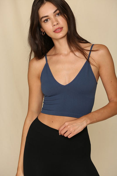 Seamless V Neck Brami