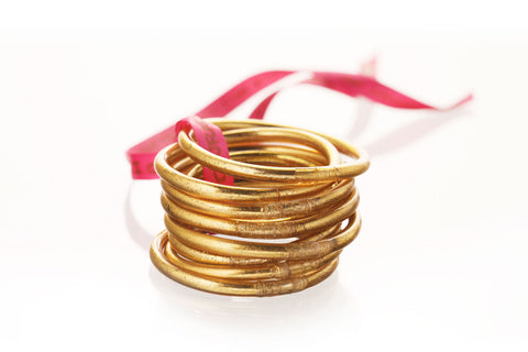 Budha Girl All Weather Bangles - Set of 9