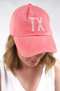 Retro Inital Hat - River Rose
