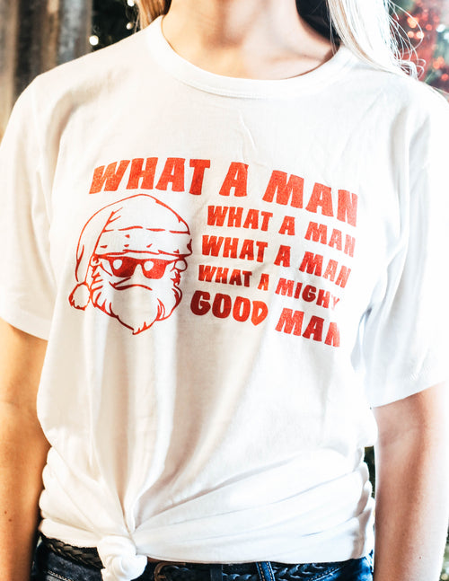 What A Mighty Good Man Tee