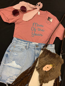 Mom of the Year Tee
