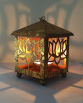 Lotus Candle Lantern - Gold - Dhoop
