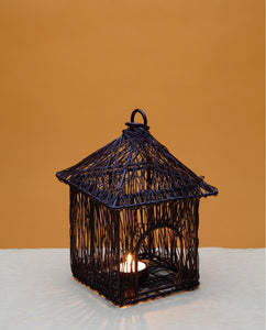 Wire Temple Lamp Large - Copper - Dhoop