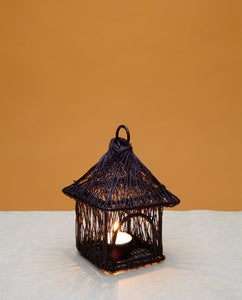 Wire Temple Lamp Small - Copper - Dhoop
