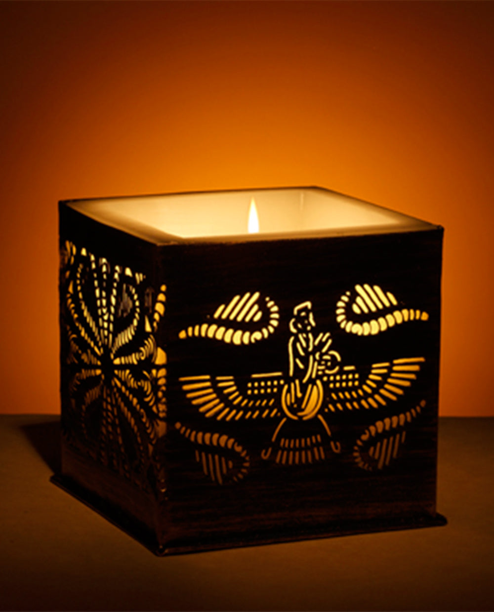 Farohar Block Grill Candle Big - Dhoop
