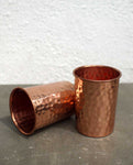 Beaten Coppper Tumbler - Dhoop