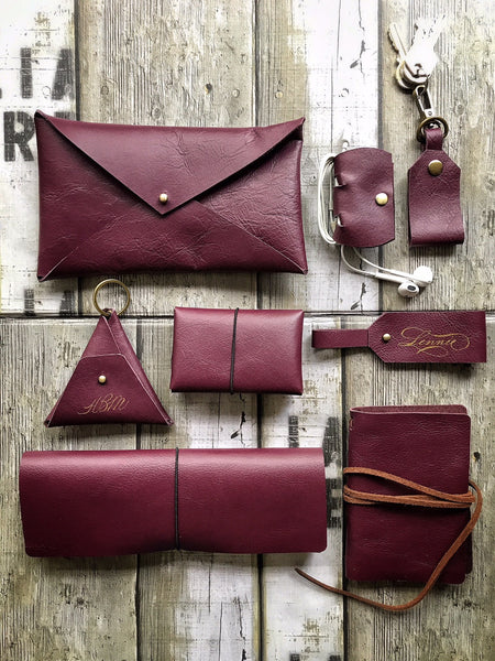8 piece Leather Premium Set