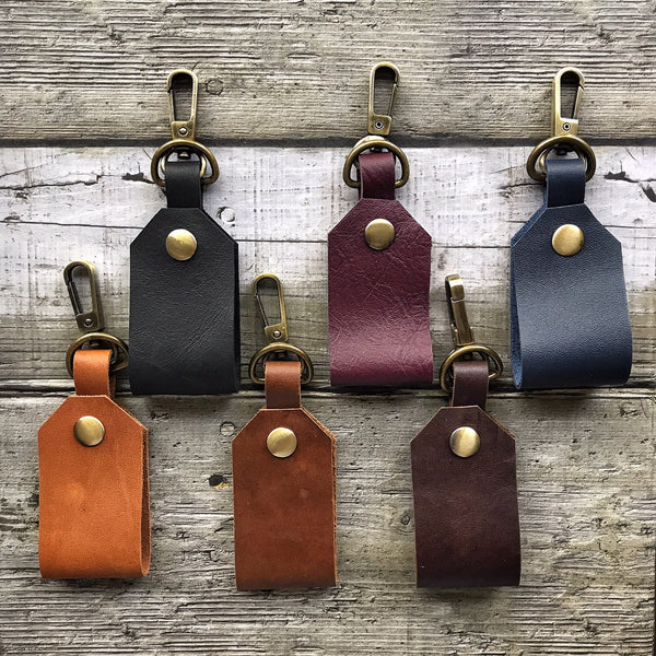 Pack of 6 Leather Key Holder