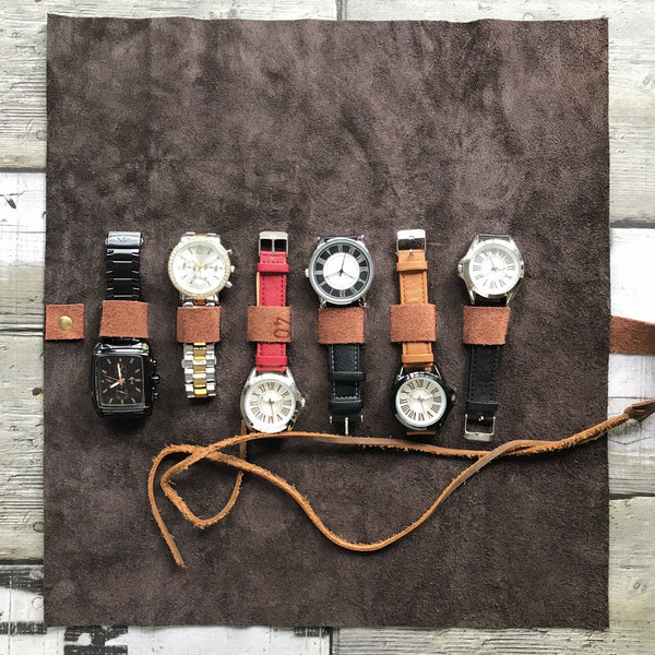 All Purpose 6 Slots Leather Wrap