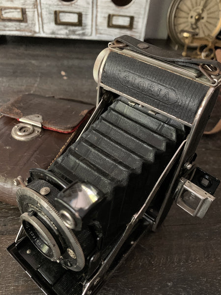 Balda Gloria German folding 6x9 120film camera circa 1934