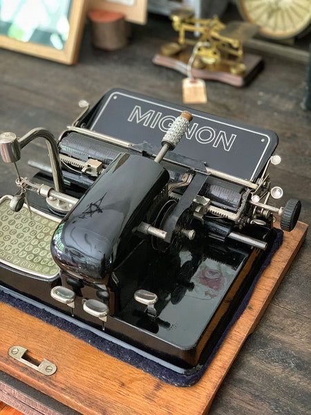 1920 Mignon 4 Index Typewriter (Germany)