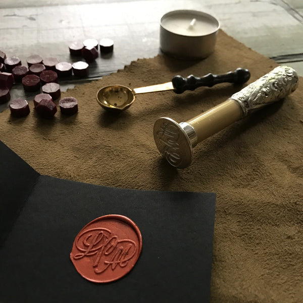 Antique Stone Wax Seals, circa 1900's