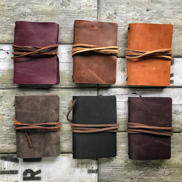 Pack of 6 Leather Passport Holder