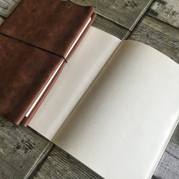 Leather Journal / Blotter