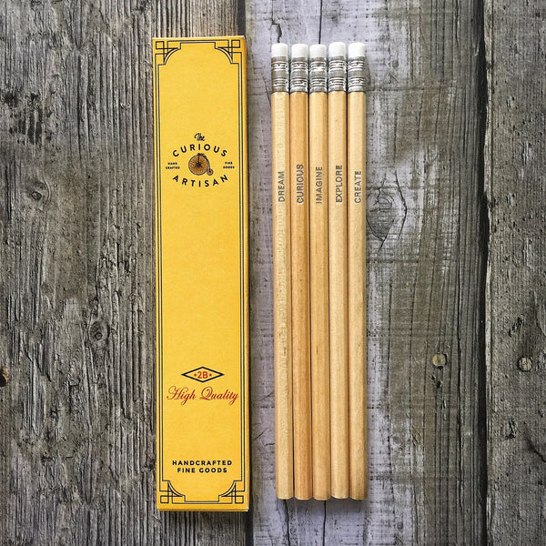 The Curious Artisan Pencil Set