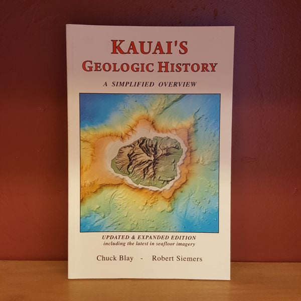 Kauai's Geologic History, by Environmental Designs , Map - Environmental Designs, The Kauai Store