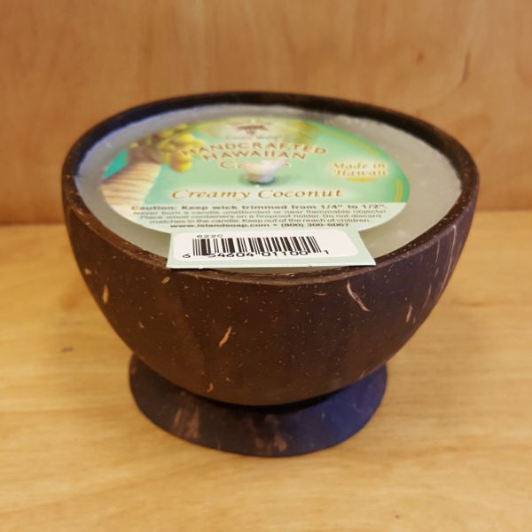 Coconut Cup Candle - Creamy Coconut, by Island Soap & Candle Works , Candle - Island Soap & Candle Works, The Kauai Store