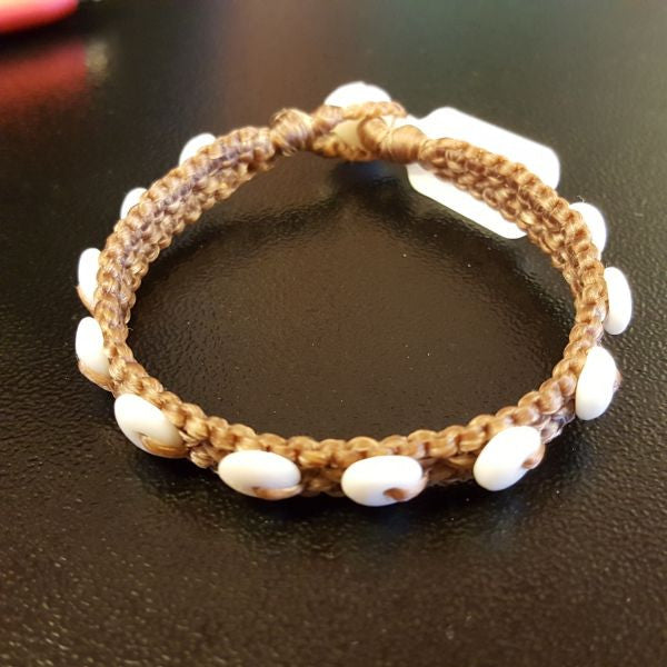 Bracelet - Puka Shell, by Ocean Tuff Jewelry