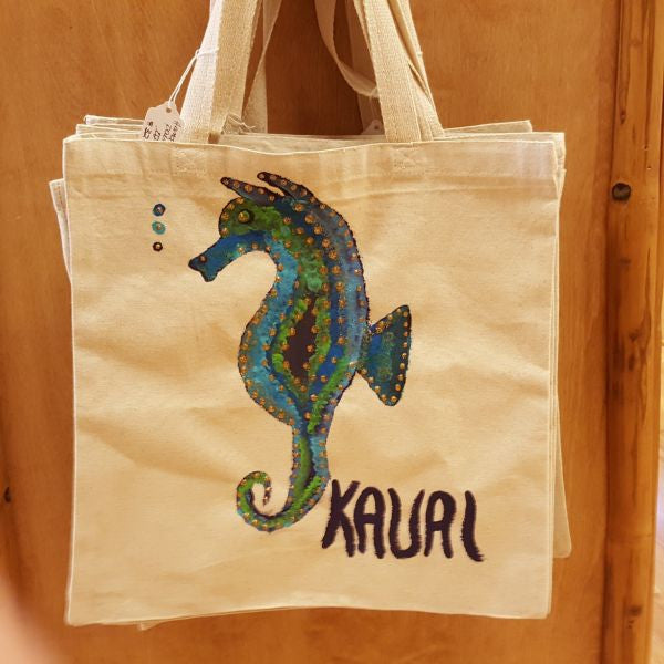 Tote Bag - Seahorse, by Mary Felcher