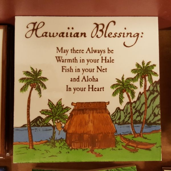 Ceramic Tiles - Hawaiian Blessing, by Banana Patch Studios