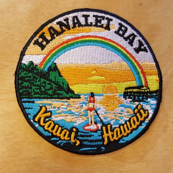 Patches - Hanalei Bay, by Chris Harm