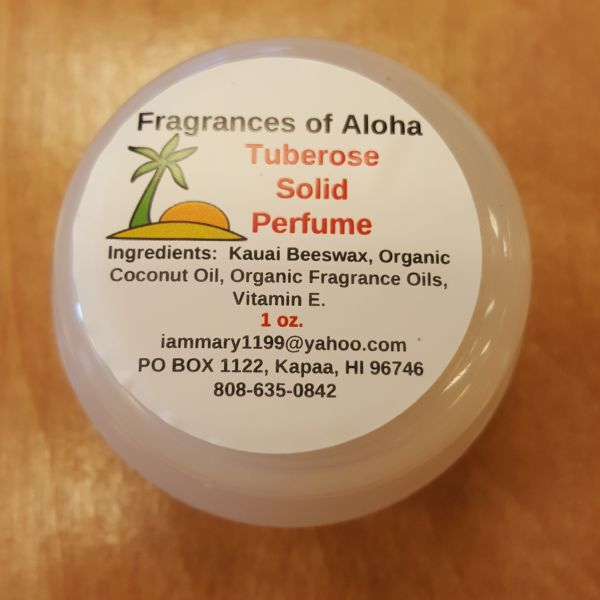 Solid Perfume - Tuberose, by Fragrances of Aloha