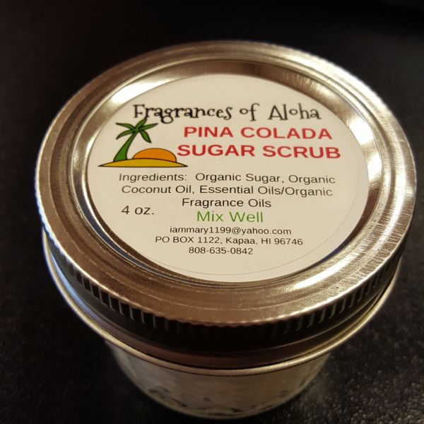Sugar Scrub - Pina Colada, by Fragrances of Aloha